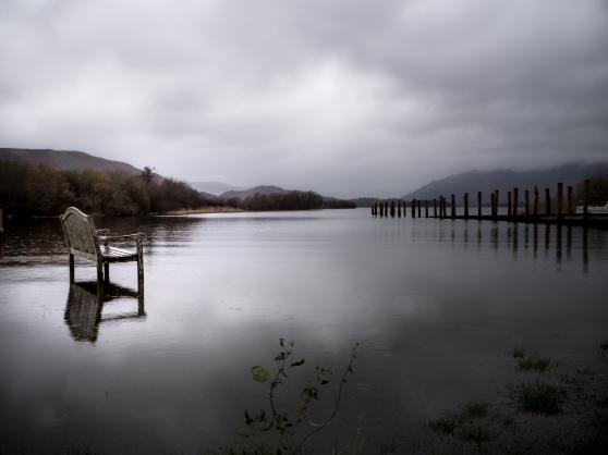 Derwentwater - flooding begins