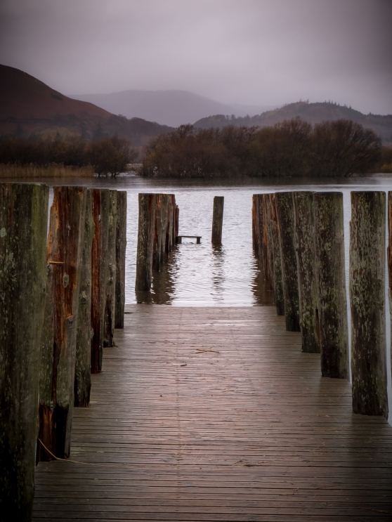Jetty at Derwentwater