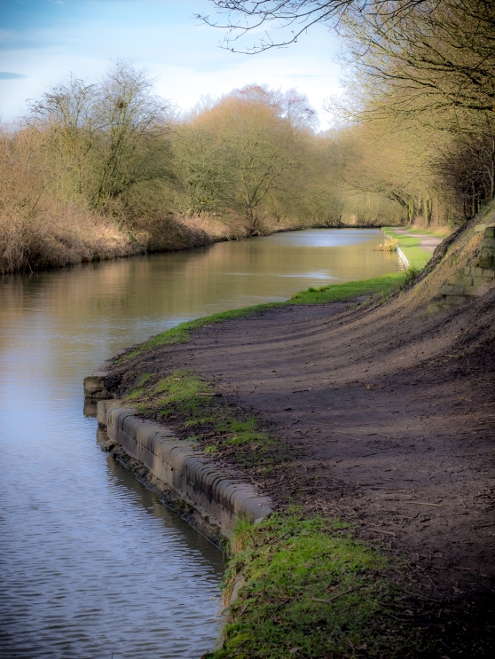 Bend in the canal